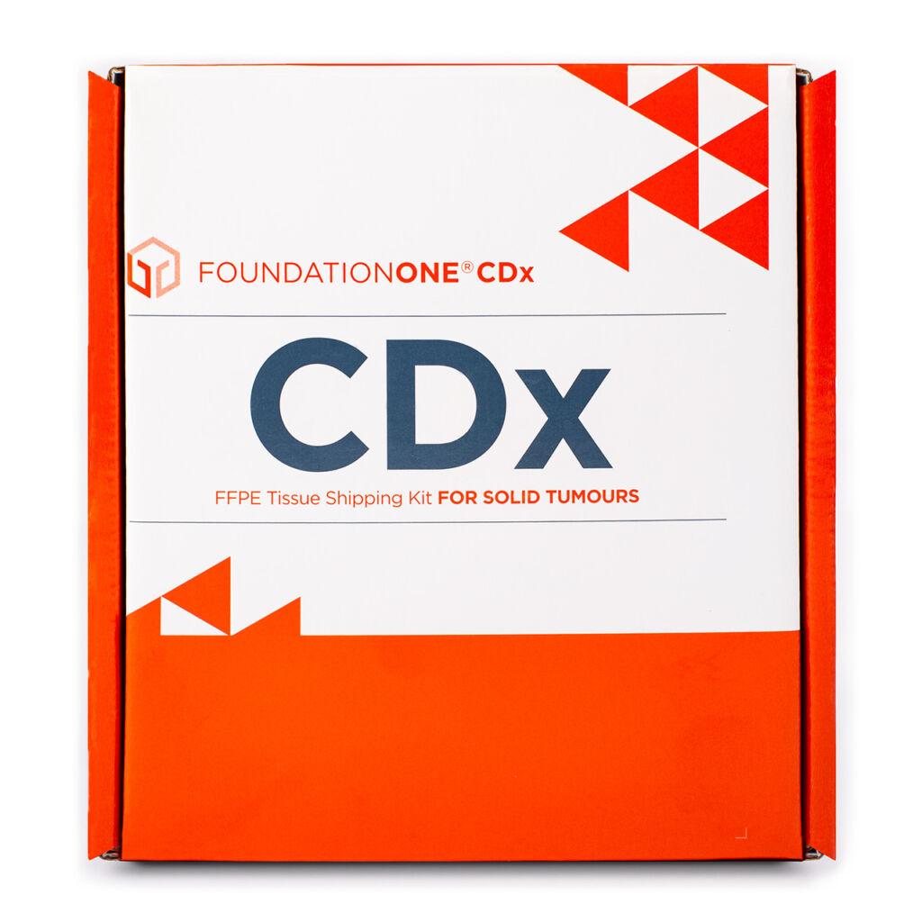 FoundationOne®CDx -tuotepakkaus